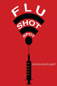 Flu Shot Spot Sign